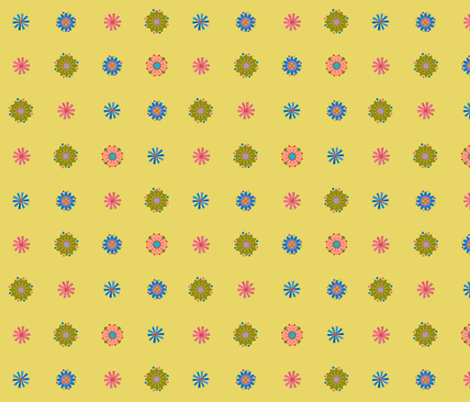 Garden Splash fabric by snuss on Spoonflower - custom fabric