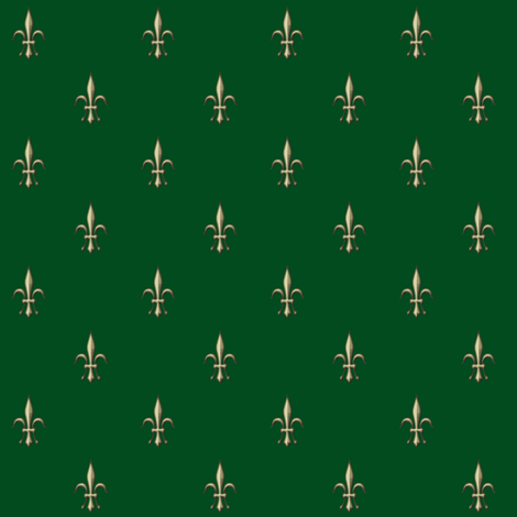 ©2011 fleurdelis2010-green fabric by glimmericks on Spoonflower - custom fabric