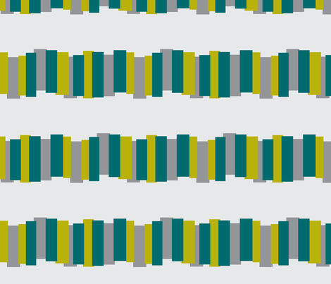 Color Block in Lime, Teal, and Grey fabric by bluenini on Spoonflower - custom fabric
