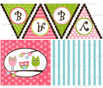 Whimsy Owls Decor