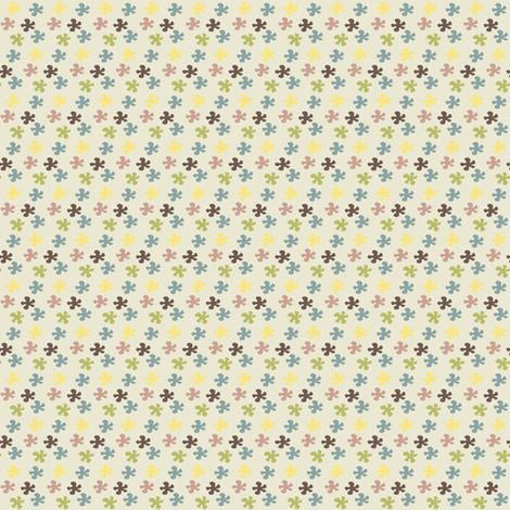 Flower in colors fabric by sawabona on Spoonflower - custom fabric