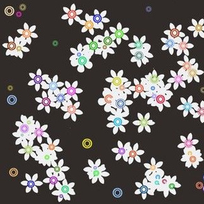 Sprinkled Flowers-ed