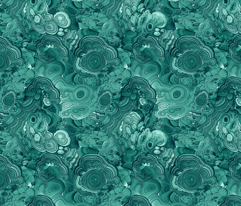 Chrysocola fabric by ravynka on Spoonflower - custom fabric