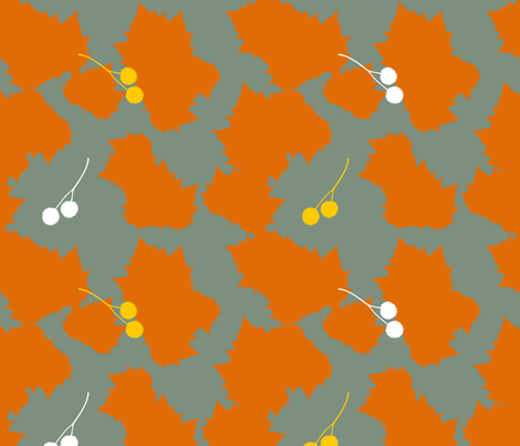 Autumn fabric by livie on Spoonflower - custom fabric