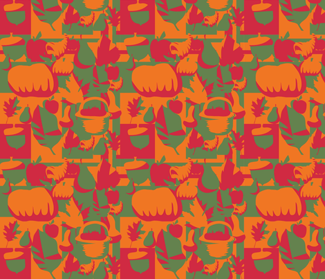 Autumn Without Snow fabric by scifiwritir on Spoonflower - custom fabric
