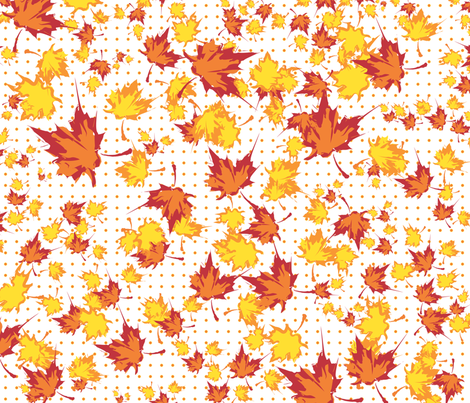 falling_leaves fabric by jefflint2002 on Spoonflower - custom fabric
