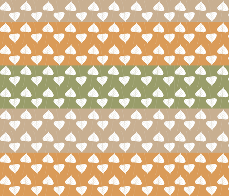 Autumn Leaves Are Falling fabric by jabiroo on Spoonflower - custom fabric