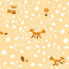 Fall is for Foxes