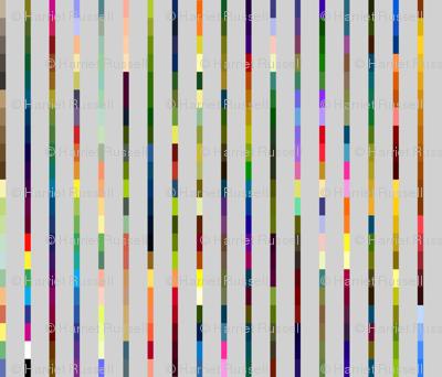 colors stripes w/18 percent grey-small