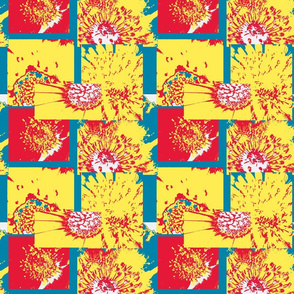 Flower Centers Design 18x21