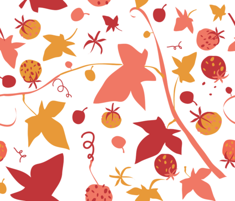 AUSTRALIAN_AUTUMN_ fabric by paloma_le_sage on Spoonflower - custom fabric