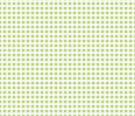 Light Green Plaid Fabric fabric by amyteets on Spoonflower - custom fabric