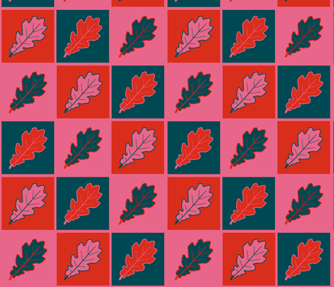 automne_chêne_ fabric by paky on Spoonflower - custom fabric
