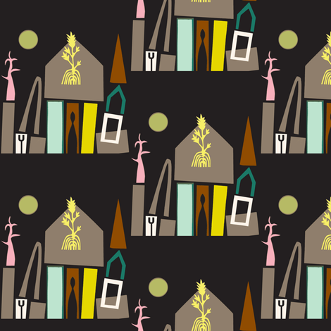 Sukkot fabric by boris_thumbkin on Spoonflower - custom fabric