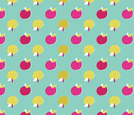 apples_copy fabric by joybucket on Spoonflower - custom fabric