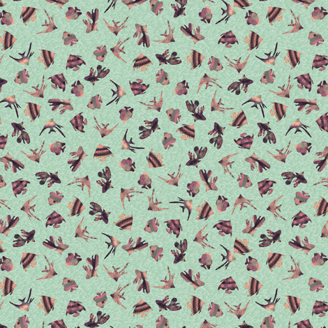Fishy_Ditsy fabric by jdiva on Spoonflower - custom fabric
