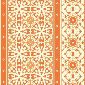 A Creamy Pumpkin Pie Border