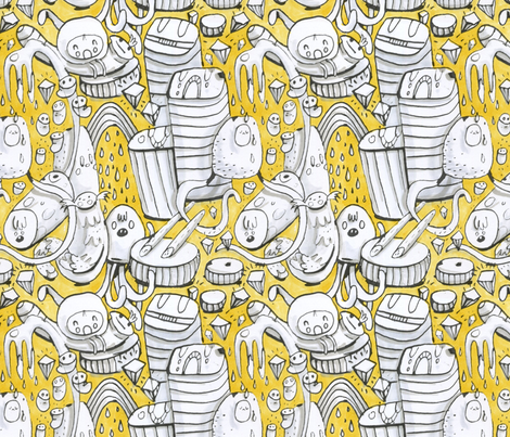 Best Buds fabric by philippa_rice on Spoonflower - custom fabric
