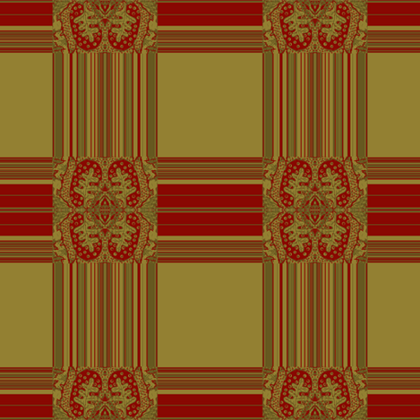 Tapestry plaid fabric by paragonstudios on Spoonflower - custom fabric