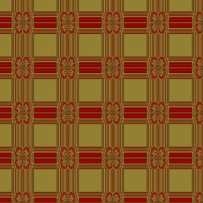 Tapestry plaid