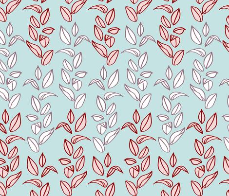 winterleaves fabric by mrshervi on Spoonflower - custom fabric