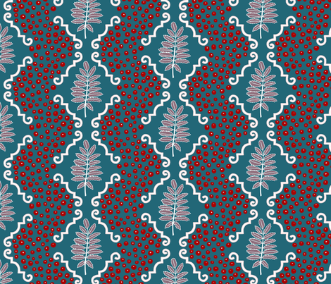 wintertiles fabric by mrshervi on Spoonflower - custom fabric