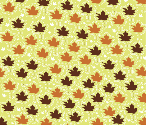 autumn fabric by littleturtle on Spoonflower - custom fabric