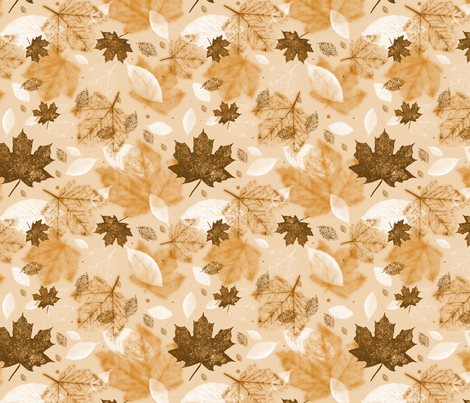 Autumnal fabric by bellenoel on Spoonflower - custom fabric
