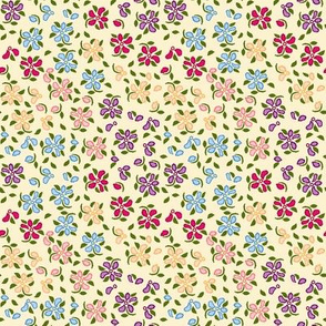 Flood of Flowers A eyelet_4_f_2_multi_tan A green-ch