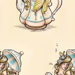 Mermaid in a Teapot