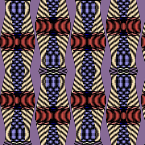 Helios (Purple) fabric by david_kent_collections on Spoonflower - custom fabric