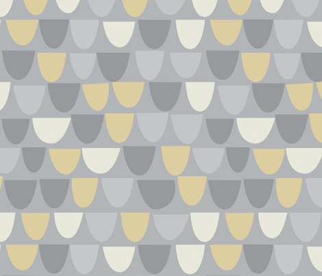 Simple Shapes fabric by gsonge on Spoonflower - custom fabric