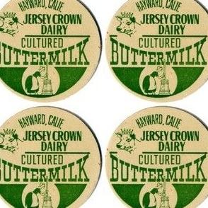 milk cap coaster labels