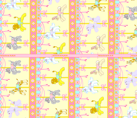 Accessory Panel A Yellow fabric by printedprincess on Spoonflower - custom fabric