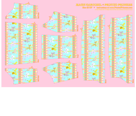 OP Panel Blue Size 42 fabric by printedprincess on Spoonflower - custom fabric