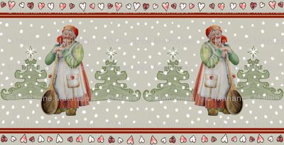 Danish Christmas Fabric