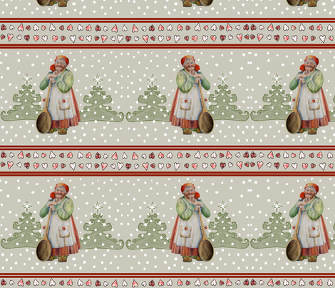 Danish Christmas Fabric  fabric by mariannemathiasen on Spoonflower - custom fabric