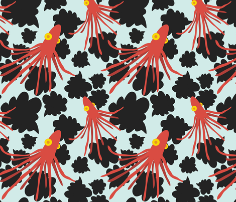 Squid Ink fabric by jordan_elise on Spoonflower - custom fabric