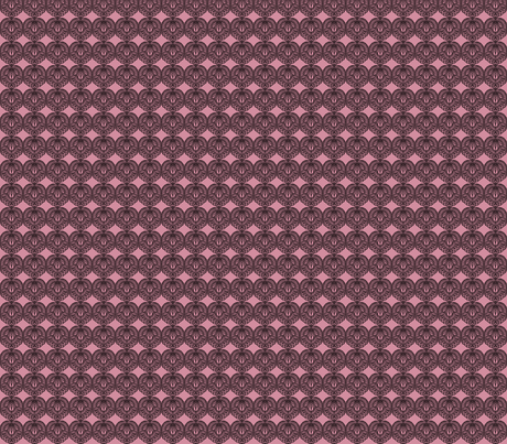 Tattoo on pink fabric by meredithjean on Spoonflower - custom fabric