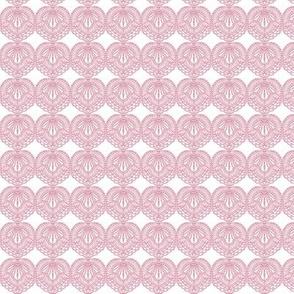 Tattoo pink and white