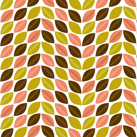 Autumn Leaves fabric by pennycandy on Spoonflower - custom fabric