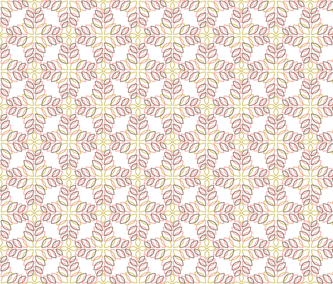 Autumn Tiles fabric by pennycandy on Spoonflower - custom fabric