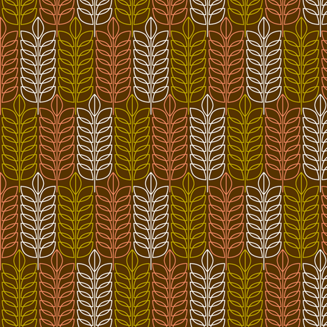Autumn Treestand fabric by pennycandy on Spoonflower - custom fabric