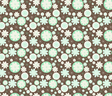 Poppy (4) fabric by mondaland on Spoonflower - custom fabric