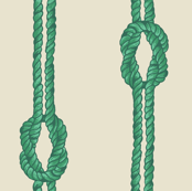 Knotted Rope - Sealeaf Greens