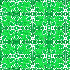 Marble Mosaic Large Tiles in Green