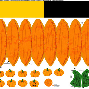 Decorate your pumpkin kit