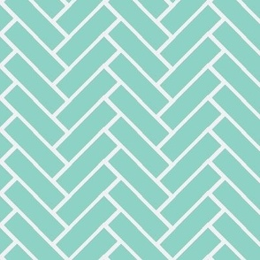 herringbone ice blue