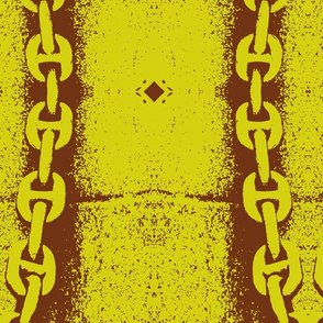 Chocolate and Chartruese Roman Chain
