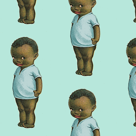 Little Boy Blues fabric by nalo_hopkinson on Spoonflower - custom fabric